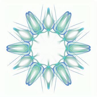Fantasy hexagonal PSD background through 20201006_005