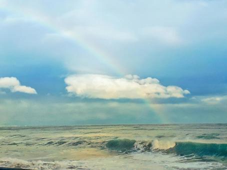 해외 같아! 아타미 오션 뷰 with rainbow