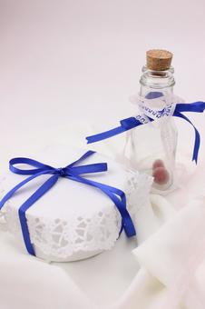 Present and bottle 1