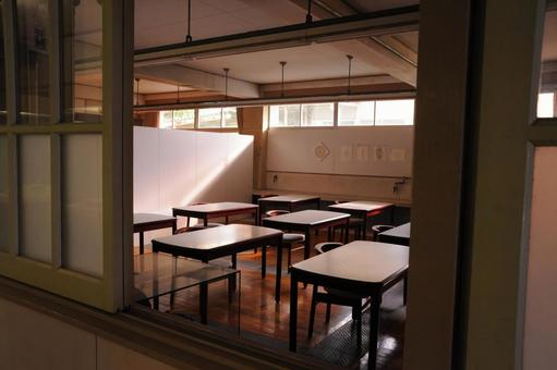 下午的教室