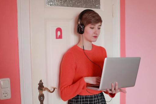 Foreigner model 13 enjoying music 13