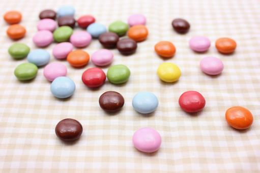 Colorful chocolate 8