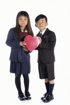 小学生与心脏