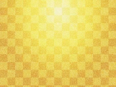 Golden zephyr and handle city pine pattern background material