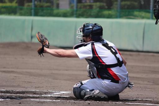 Baseball catcher male
