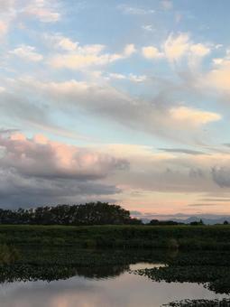 Waterside dusk