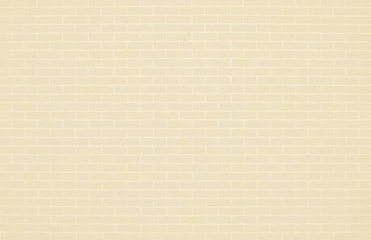 Beige brick tiles | Free background material for cute brick walls
