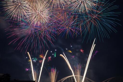 Fireworks display Star Mine 6