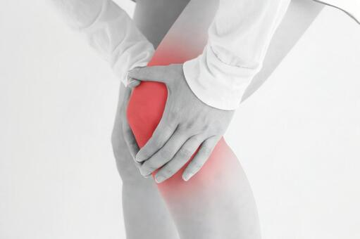 People with knee pain