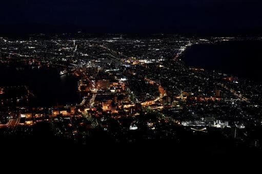 Night view of Hakodate (Hakodate, Hokkaido)