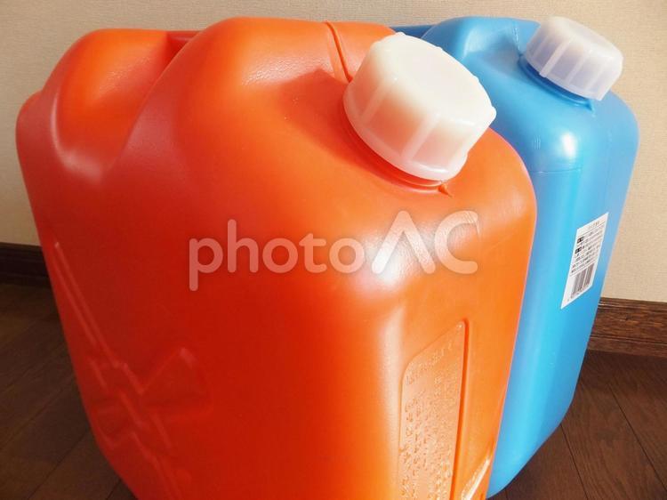 灯油缶 2の写真