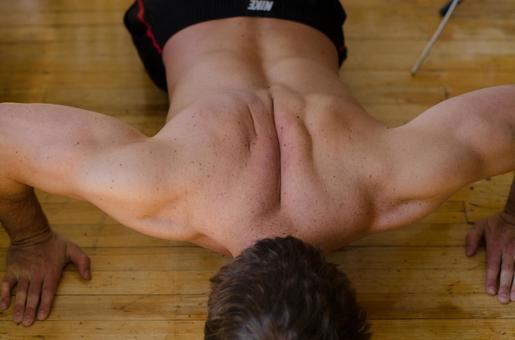 White male fitness model 12