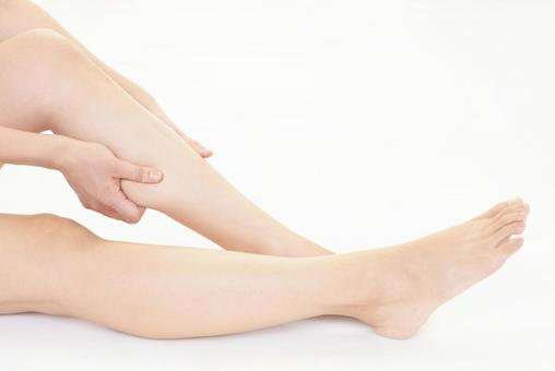 Female leg foot care