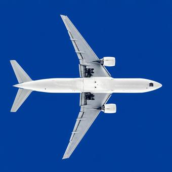 Airplane 36 Jet plane Directly below background transparent PSD