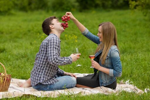 夫婦和葡萄7