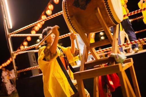 Summer festival drum