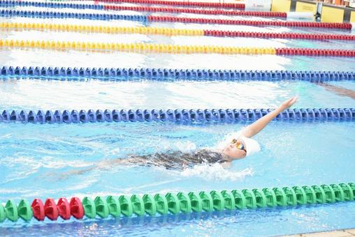 Number one in backstroke prefecture