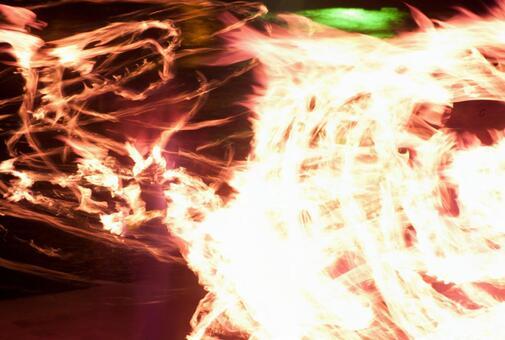 Fire dance 45