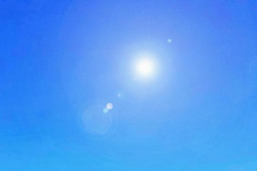 Sunlight texture copy space