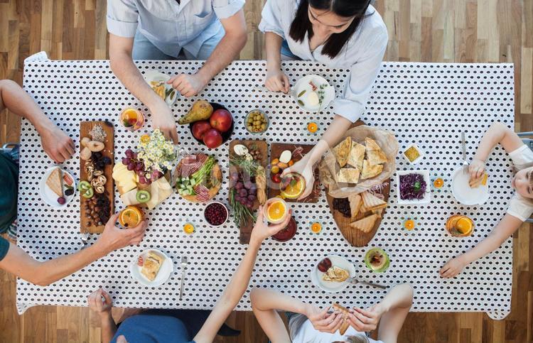 食事風景28の写真