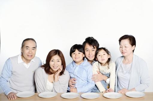 Three generations family 9