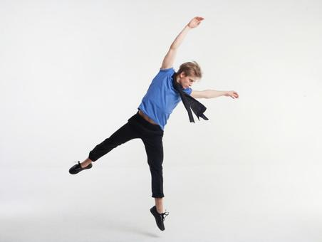 Male dancer's pose 3