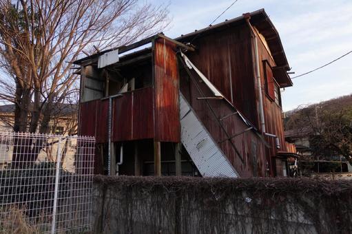 방치 된 빈집