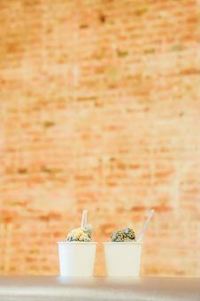 Sesame ice cream ④