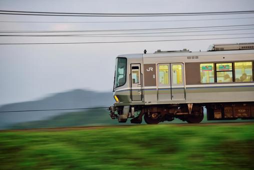 Railway, JR West 223 series train 004