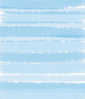 Watercolor stripe light blue