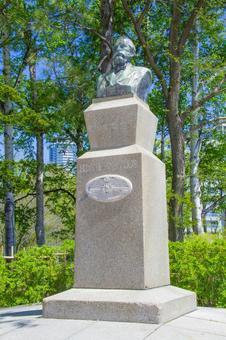 Hokkaido University Clark statue