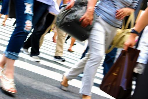 Crossing people 1
