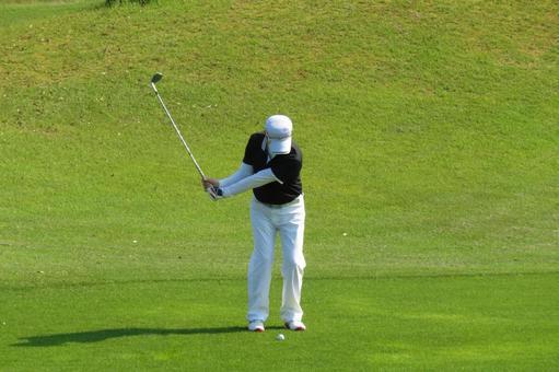 Golf course approach 3