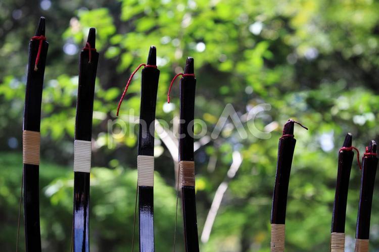 弓道の写真