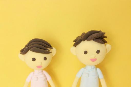 Nurse male and female 3
