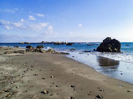 초봄의 바다