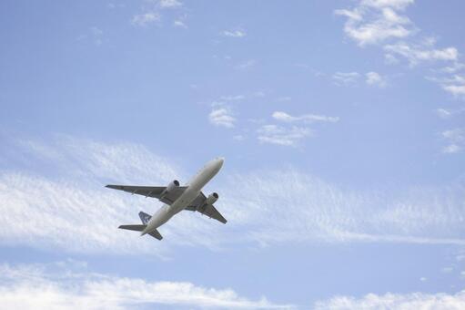 비행기와 하늘 10