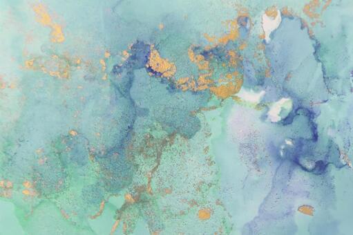 대리석 무늬 배경 녹색 계열