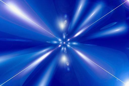 Blue flash 5