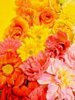 밝은 난색의 꽃
