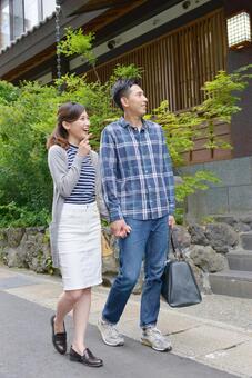 Couple who came to Onsen Ryokan 4