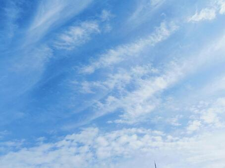 Blue sky and clouds 8