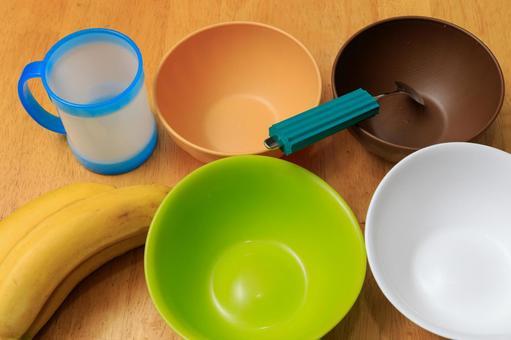 Nursing tableware