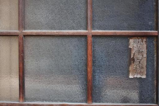 Sliding door glass