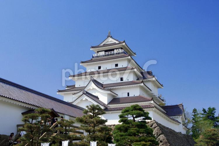 会津若松城の写真