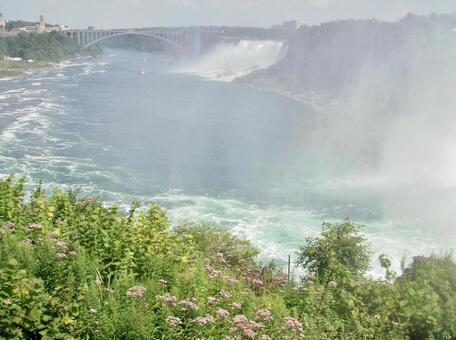 ナイアガラの滝のある川
