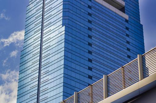 고층 빌딩과 교량