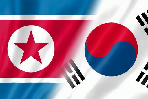 North Korea and the Korean flag 1