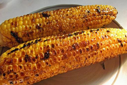 Baked corn # 1