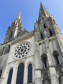 Chartres Cathedral, Chartres, France.